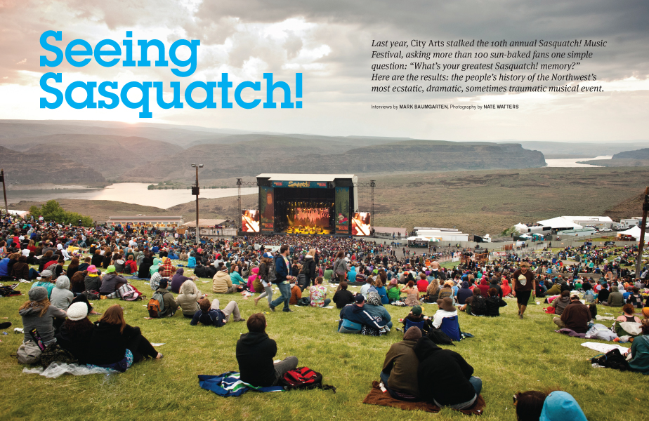 Sasquatch Spread